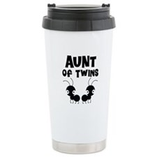 Aunt of Twins Travel Mug