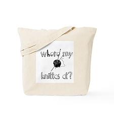 Where my Knittas at? Tote Bag