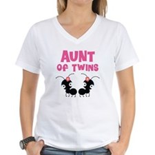 Aunt of Twins Shirt