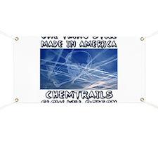 Chemtrails - Still Made in America Banner