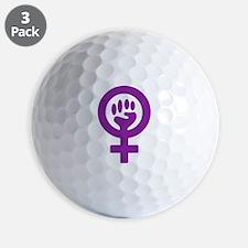 Femifist Golf Ball