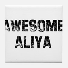 Awesome Aliya Tile Coaster