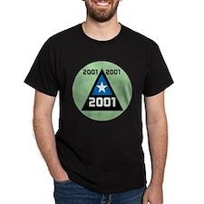 2001 Triangle Millennium men,s T-Shirt