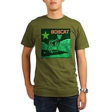 Bob Cat green Star T-Shirt