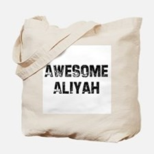 Awesome Aliyah Tote Bag