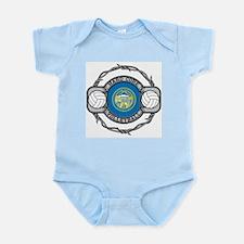 Nebraska Volleyball Infant Bodysuit