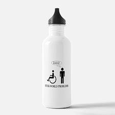 Stick World Problems Water Bottle