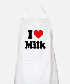 I Heart Milk Apron