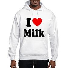 I Heart Milk Hoodie