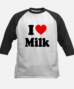 I Heart Milk Baseball Jersey