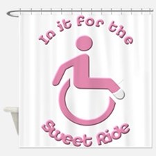 In it for the Sweet Ride Shower Curtain