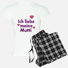 ICH liebe meine Mutti 2 Pajamas