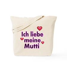ICH liebe meine Mutti 2 Tote Bag