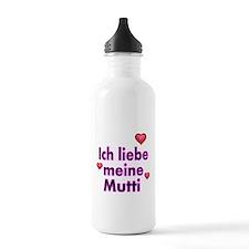 ICH liebe meine Mutti 2 Water Bottle