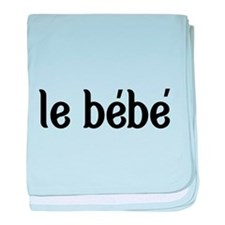 le bebe-the baby-French baby blanket