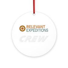 RelevantExpeditions.com Ornament (Round)