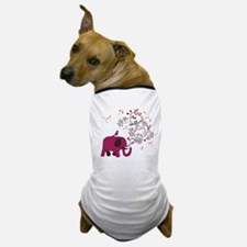Love Elephant Dog T-Shirt