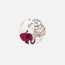 Love Elephant Mini Button (10 pack)