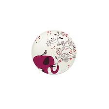 Love Elephant Mini Button