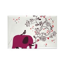 Love Elephant Rectangle Magnet (100 pack)