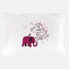 Love Elephant Pillow Case