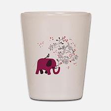 Love Elephant Shot Glass