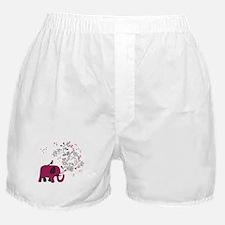 Love Elephant Boxer Shorts