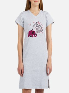 Love Elephant Women's Nightshirt