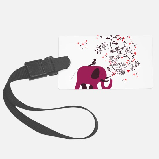 Love Elephant Luggage Tag