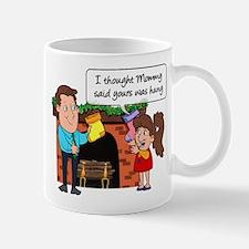 Yours Was Hung Mug