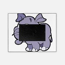 Purple Cartoon Elephant Picture Frame