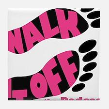 Walk it Off Logo_with Slice Tile Coaster