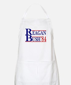 Reagan Bush 1984 BBQ Apron
