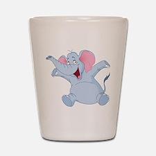 Happy Elephant Shot Glass