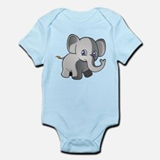 Baby Elephant 2 Body Suit