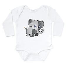 Baby Elephant 2 Body Suit