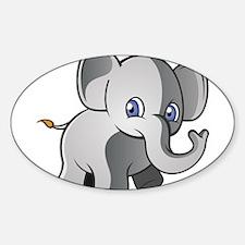 Baby Elephant 2 Decal