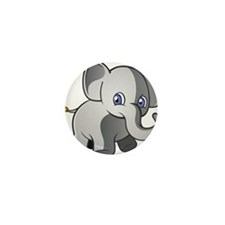 Baby Elephant 2 Mini Button (10 pack)
