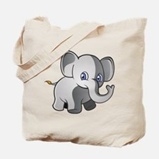 Baby Elephant 2 Tote Bag