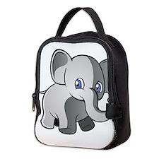 Baby Elephant 2 Neoprene Lunch Bag