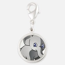 Baby Elephant 2 Charms