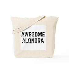 Awesome Alondra Tote Bag
