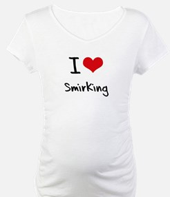 I love Smirking Shirt