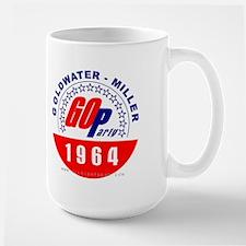 Goldwater Miller 1964 Large Mug