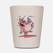 Drunk Pig Shot Glass