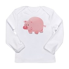 Pink Pig Long Sleeve T-Shirt