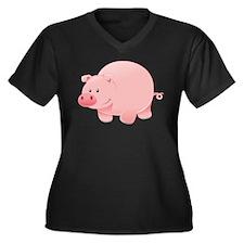 Pink Pig Plus Size T-Shirt