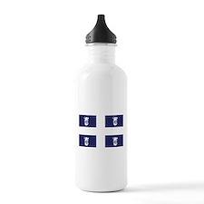 Quebec - Quebecois - Beer - Flag Water Bottle