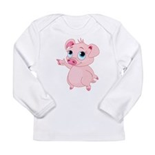 Cute Pig Long Sleeve T-Shirt