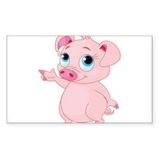 Cute Pig Decal